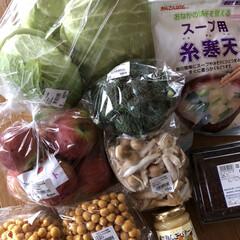 野菜/たてしな自由農園/長野ドライブ 昨日の長野ドライブのお買い物〜🥦🌼 たて…