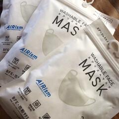 市から/エアリズムマスク/ユニクロ 市から、マスク引き換えのハガキが届いたの…