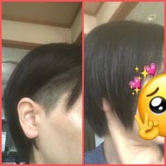 ツーブロ/ヘアースタイル 髪の悩みは人それぞれ… 私はとにかく毛量…