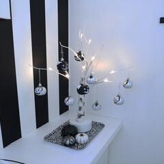 モノトーンインテリア/ニトリ トイレをハロウィン仕様にしてみました〜🎃…(2枚目)