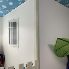 DIY収納/DIY/子供部屋/ディアウォール/柵 ディアウォールを活用し、柵を作りました …
