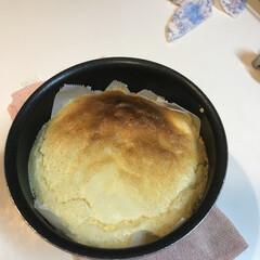 おうちカフェ チーズケーキ 焼きたて