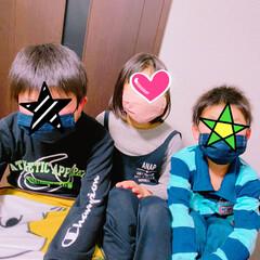 マスク マスク作りましたぁ!