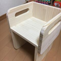 キッズチェア/こども椅子 積み重ねできるこども椅子 試作 No.1