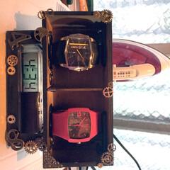 スチームパンク/腕時計/100均/ダイソー 衝動的に深夜3時から作りだす