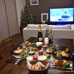 クリスマスディナー/クリスマス/ダイニング いまさらですが、2020年のクリスマスデ…(1枚目)