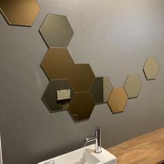 IKEA トイレの鏡はIKEAのホーネフォッスを好…(2枚目)