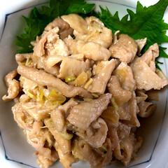 うちの定番料理 鶏皮の珍味料理