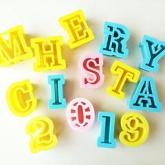 クッキー型/アルファベット/クリスマス 「MERRY CHRISTMAS」を抜く…