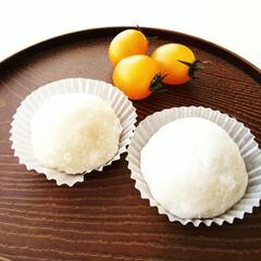 大福/春のフォト投稿キャンペーン/わたしのごはん 今日はデザートに、大福を作りました。 も…