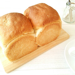 おうちごはん/食パン/パン作り ここ何年も、朝食やおやつ用として週に3回…