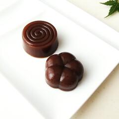 KaiHouse SELECT 和菓子のシリコン型 DL7504 | 貝印(和菓子製菓用品)を使ったクチコミ「コーヒーが香る水ようかん。 水の代わりに…」