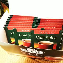 紅茶/スパイス/ティーバッグ 最近毎日飲んでいる、スパイス入りのティー…