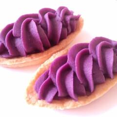 紫芋/タルト/手作り 秋になると食べたくなるのが、芋のスイーツ…