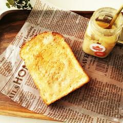 メープルスプレッド/トースト/食パン メープルスプレッドをパンに塗るのにはまっ…