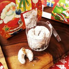 クリスマス2019/クリスマス菓子/クッキー ひとつ前に載せたギフトの中身。 ドイツや…