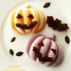 かぼちゃ/アイスクリーム/紫芋/水ようかん/こうもり/ハロウィン2019 ハロウィンが近いということで、ちょっと不…