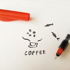 ペン/カリグラフィー/パラレルペン 本格的なカリグラフィーはペン先にインクを…