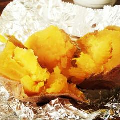 さつまいも/オーブン焼き/安納芋 黄色みが強く、とても甘い安納芋! 水で濡…