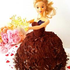 ハンドメイド/ケーキ/チョコレート/チェリー フォレノワールと言うキルシュ香るチェリー…