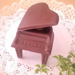 ピアノ/チョコレート もう何年も前に作ったグランドピアノ形のチ…