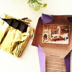 チョコレート/パッケージ/冬 冬はついつい手がのびるチョコレート。 ひ…