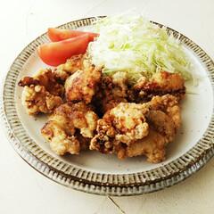 からあげ/わさび/鶏肉 鶏肉の1割ほどの重さのわさびで下味をつけ…