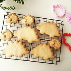 クッキー/クッキー型/ハリネズミ 二種類の大きさの、ハリネズミの型抜きクッ…