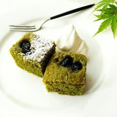 抹茶/ケーキ/クリーム/スプーン/雑貨だいすき ひとつ前に載せた抹茶のケーキは、クリーム…