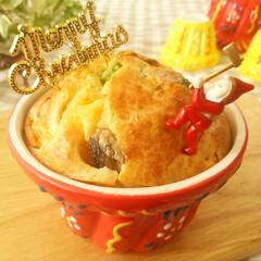 クリスマス/ケークサレ/クグロフ ケークサレ(=塩味のケーキ)を、冬季のク…