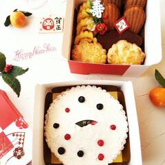 お菓子のおせち/スイーツおせち/お正月2020 大晦日のおやつに、お菓子のおせち。 そこ…