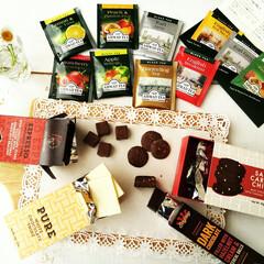 チョコレート/紅茶/春のフォト投稿キャンペーン 先日載せた、懸賞で当選したチョコレート&…