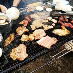 バーベキュー/焼き肉/令和元年フォト投稿キャンペーン 昨日は庭で夕方からバーベキューをしました…