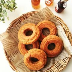 メープルシュガー/ドーナツ/メープルシロップ 簡単ですがサクッと美味しい、オールドファ…