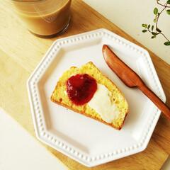 手作り/バターナイフ/コーンブレッド/雑貨だいすき 二年前に自分で削った、木のバターナイフ!…