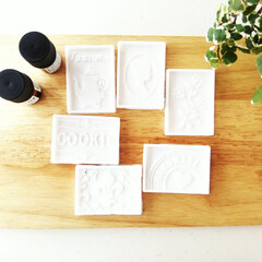 石鹸/アロマテラピー/化粧品 可愛いシリコン製お菓子の型で、薄い石鹸を…