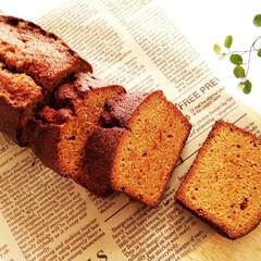 キャラメル/ケーキ/パウンドケーキ/春のフォト投稿キャンペーン/わたしのお気に入り ほろ苦くて甘すぎない、キャラメルケーキを…