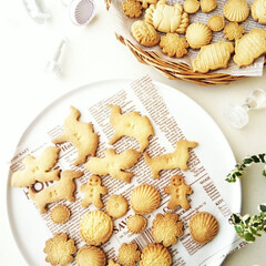 リミアな暮らし/バタークッキー/マクロビ 写真の上のトレーに入っているのはマクロビ…