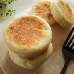 イングリッシュマフィン/わたしのごはん/米粉 米粉を使ったイングリッシュマフィンは朝食…