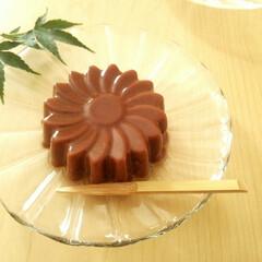 水ようかん/チョコレート こちらチョコレートの水ようかんです。作ろ…