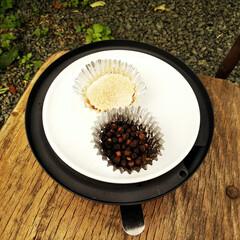 薫製/塩/黒胡椒/令和元年フォト投稿キャンペーン 塩と黒胡椒の薫製です。 卓上のスモークク…