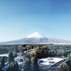 富士山/旅行/おでかけワンショット ゴールデンウィークよりも、もう少し前の写…