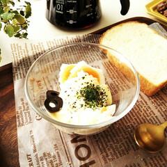 卵/トースト/サラダ 半年に一回ほど、卵サラダをホットサンドに…