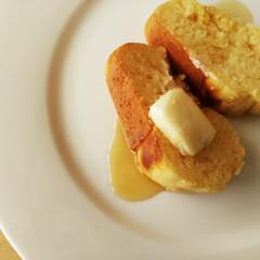 ハンドメイド/メープルシロップ/パンケーキ 先日載せた、クグロフ型に入れてオーブンで…
