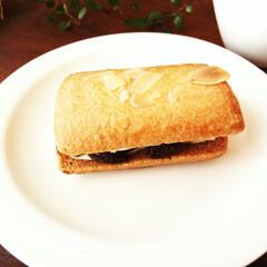 春のフォト投稿キャンペーン/レーズンサンド きょうのお茶のお供はレーズンサンド♪ レ…