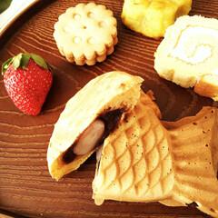 冬/たい焼き/お菓子のおせち ひとつ前のフォトに載せたお菓子のおせちの…