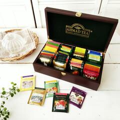 紅茶/収納/木箱 最近、以前から欲しいと思っていたティーバ…