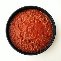 ミートソース/トマト/冷凍 ハーブやスパイス、野菜たっぷり(玉ねぎ・…