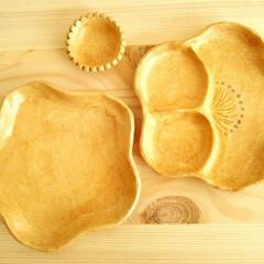 オーブン陶芸/豆皿 オーブン陶芸のキットで作ったお皿です。 …