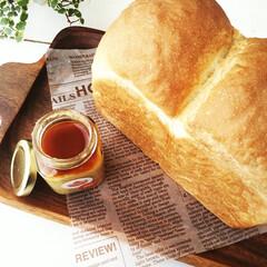 メープルシロップ/メープルスプレッド/食パン メープルスプレッド初体験。 まずはいつも…
